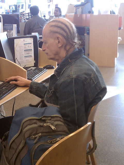 Braided grandpa