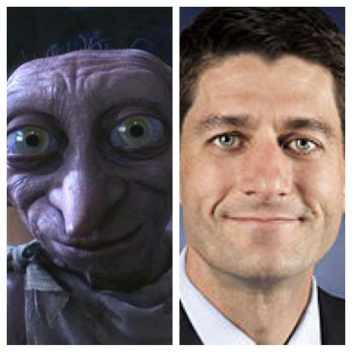Paul Ryan Dobby from Harry Potter