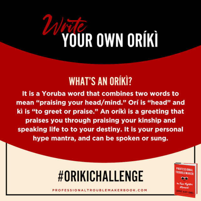 whats an oriki?